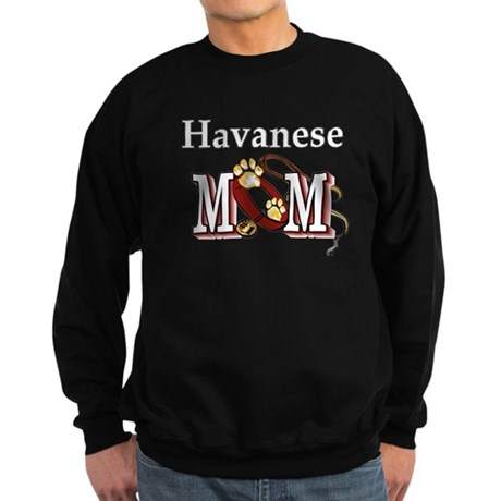 Havanese Mom Gifts Sweatshirt (dark)