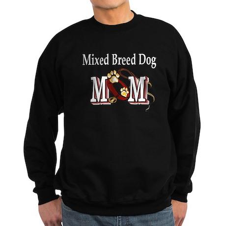 Mixed Breed Dog Gifts Sweatshirt (dark)