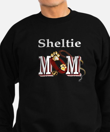 Sheltie Mom Sweatshirt (dark)