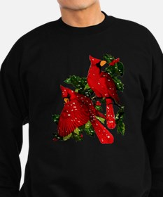Snow Cardinals Sweatshirt (dark)
