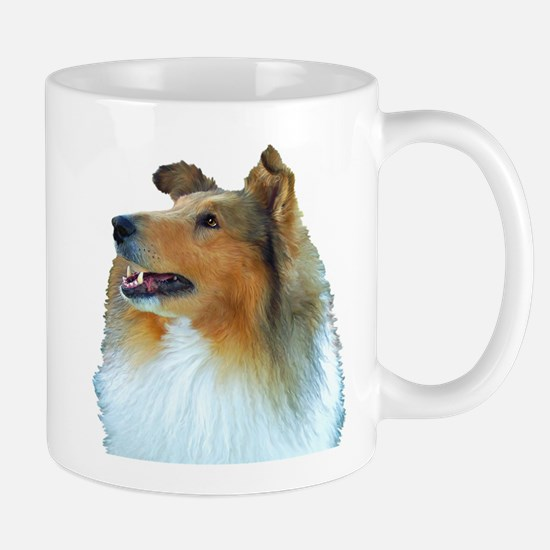 Collie Portrait Mug