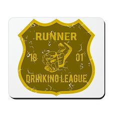 Runner Drinking League Mousepad