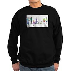 Flyball Crowd Sweatshirt