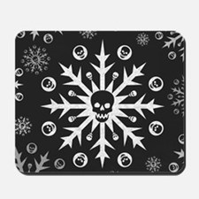 Skullflake (dark) Mousepad