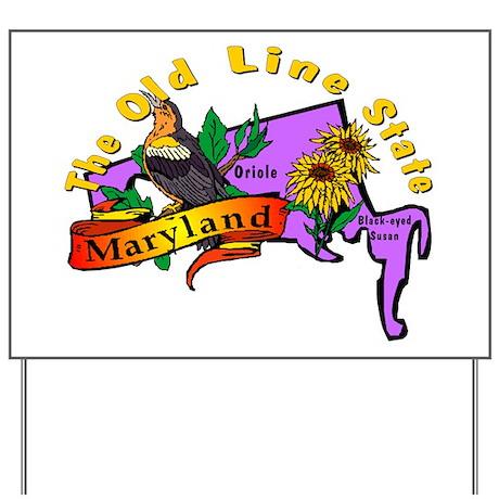 """Maryland Pride"" Yard Sign"
