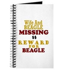 Wife & Beagle Missing Journal