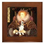 Queen / Beagle (#1) Framed Tile