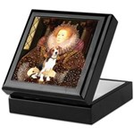 Queen / Beagle (#1) Keepsake Box