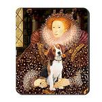 Queen / Beagle (#1) Mousepad
