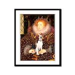 Queen / Beagle (#1) Framed Panel Print
