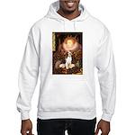 Queen / Beagle (#1) Hooded Sweatshirt