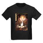 Queen / Beagle (#1) Kids Dark T-Shirt