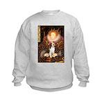 Queen / Beagle (#1) Kids Sweatshirt