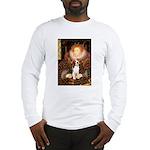 Queen / Beagle (#1) Long Sleeve T-Shirt