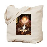 Queen / Beagle (#1) Tote Bag