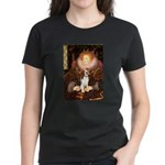 Queen / Beagle (#1) Women's Dark T-Shirt