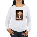 Queen / Beagle (#1) Women's Long Sleeve T-Shirt