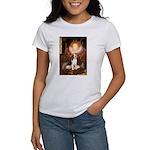 Queen / Beagle (#1) Women's T-Shirt