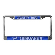 Agility Chihuahua License Plate Frame
