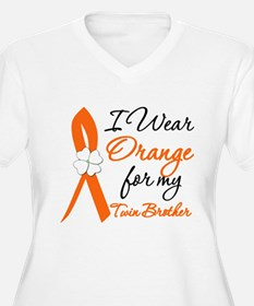 I Wear Orange For My Twin Brother T-Shirt