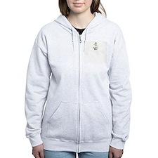 Digger, Please Funny Skeleton Zip Hoodie