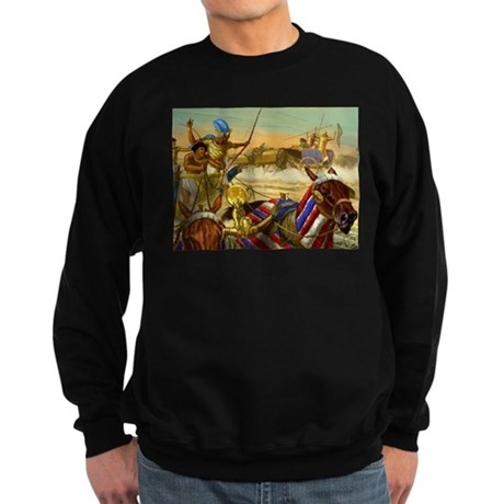 Battle of Kadesh where the an Sweatshirt (dark)