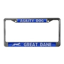 Agility Great Dane License Plate Frame