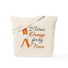 I Wear Orange For My Niece Tote Bag