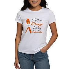 I Wear Orange Mother-In-Law Tee