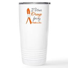 I Wear Orange Mother-In-Law Travel Mug