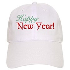 Happy New Year! Baseball Cap