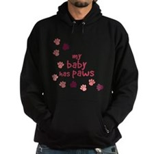 My Baby Has Paws Hoodie