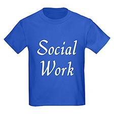 Social Work (White) T