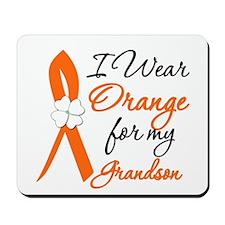 I Wear Orange For My Grandson Mousepad