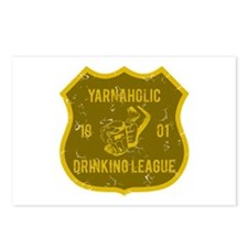 Yarnaholic Drinking League Postcards (Package of 8