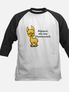 Alpacas ate my Homework Tee