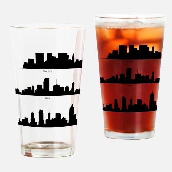 Unique City of atlanta Drinking Glass