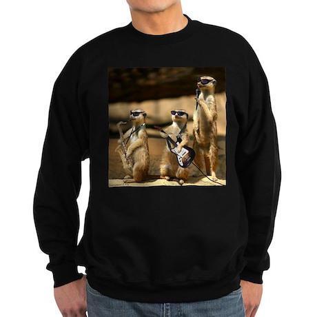Meerkat Trio Sweatshirt (dark)