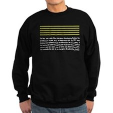 Emergency Broadcasting System Sweatshirt