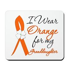 I Wear Orange For My Granddaughter Mousepad