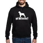got rottweiler? Hoodie (dark)