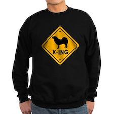 Tibetan Mastiff X-ing Sweatshirt