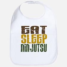 Eat Sleep Ninjutsu Bib