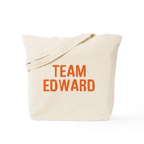Team Edward (Orange) Tote Bag