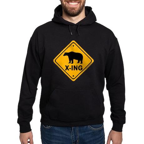 Bear X-ing Hoodie (dark)