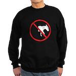 No Half-Assed Sweatshirt (dark)