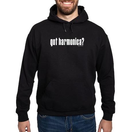 got harmonica? Hoodie (dark)