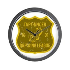 Tap Dancer Drinking League Wall Clock
