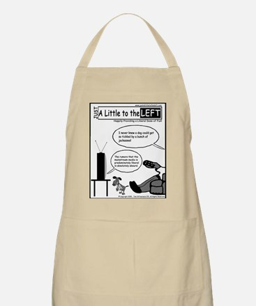 Just a Little to the Left BBQ Apron