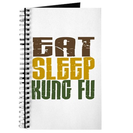 Eat Sleep Kung Fu Journal